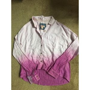 Tops - Light pink Purple Ombré shirt